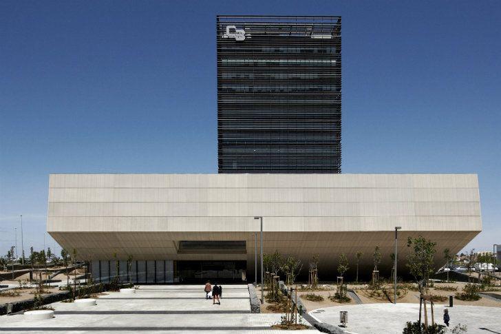 Edificio Siglo XXI sede de la firma Área Financiera